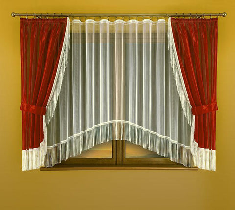 Beautiful Curtains + Net Curtain - Amazing Curtains