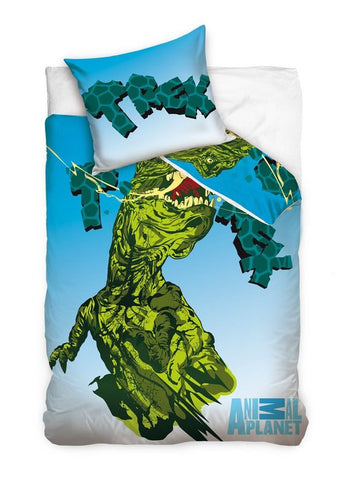 Animal Planet Bedding Set - T-Rex - Amazing Curtains