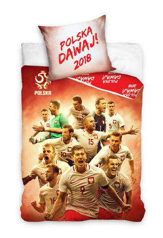 Bedding Set - Polish Team 2018 - Amazing Curtains