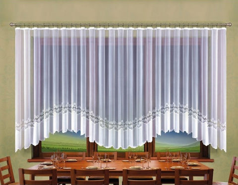 Large Jardiniere Net Curtain 600 x 160cm - Amazing Curtains