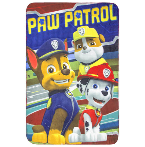 Paw Patrol Fleece Blanket 110 x 140cm - Amazing Curtains