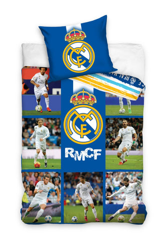 Official Real Madrid Bedding Set - Amazing Curtains