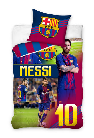 Official Barcelona Bedding Set - Messi - Amazing Curtains