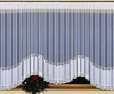 Large Jardiniere Net Curtain 600 x 150cm - Amazing Curtains