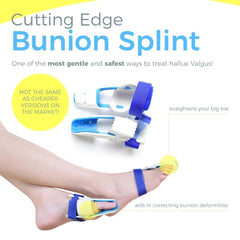 Penkwin® | 5 PIECE Complete Bunion Corrector Kit for Pain Relief & Correction