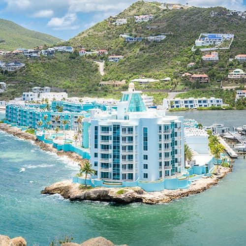 where to stay in Saint Martin