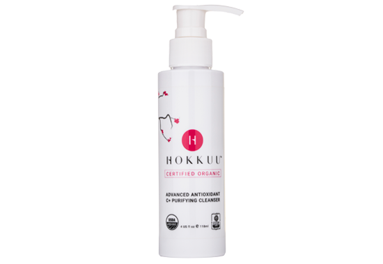 Hokkuu™ Certified Organic Advanced Antioxidant C+ Purifying Cleanser
