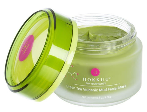 Hokkuu Spa Technology Green Tea Volcanic Mud Mask. FREE SHIPPING!