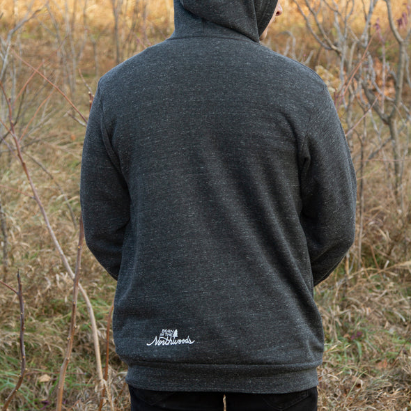 Otso Triblend Sponge Fleece Full-Zip Hoodie