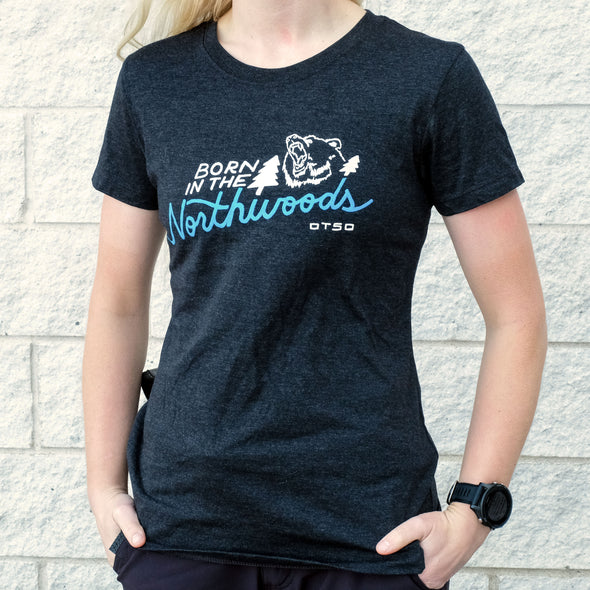 Otso Born in the Northwoods Women's T-shirt