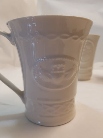 BELLEEK CHINA COFFEE MUGS