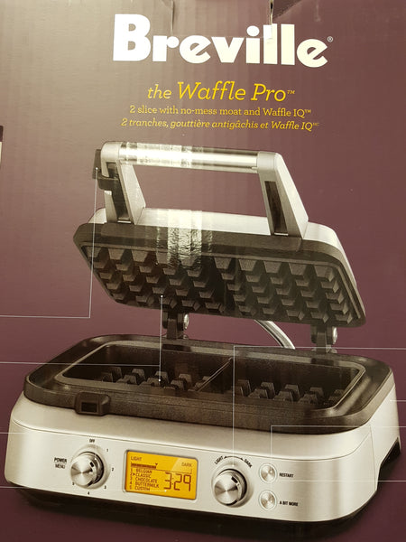 "BREVILLE ""THE WAFFLE PRO"""