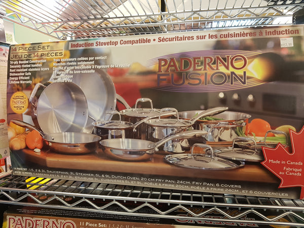 PADERNO FUSION POT AND PAN SET