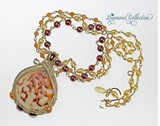 Blushing Claret Necklace