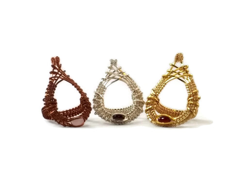 mini cutout drop ring group