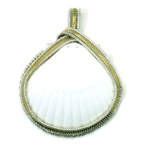 Large Scallop Pendant