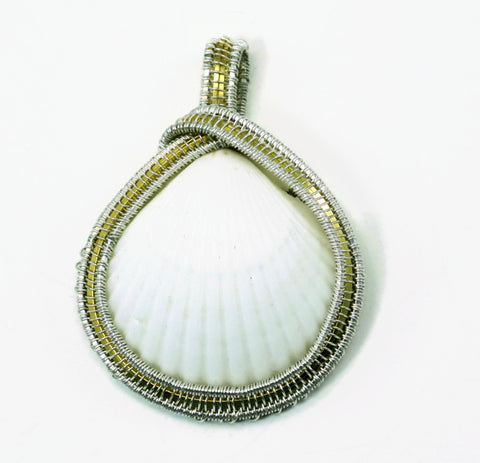 Medium Scallop Pendant