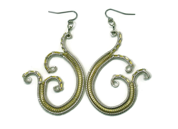 Scroll Earrings