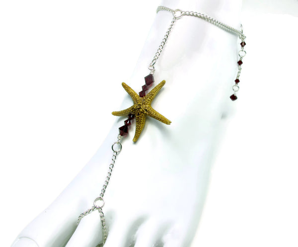 Single Starfish Bar Barefoot Sandal