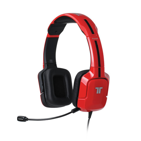 PS4 Headset Wired Kunai Stereo Headset PS4, PS3, PS Vita Compatible Red