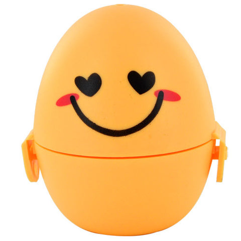 Skque Mini Cute Egg Shape Convenient Towel Box with Towel Kids School Toy Party Favors-color in Yellow