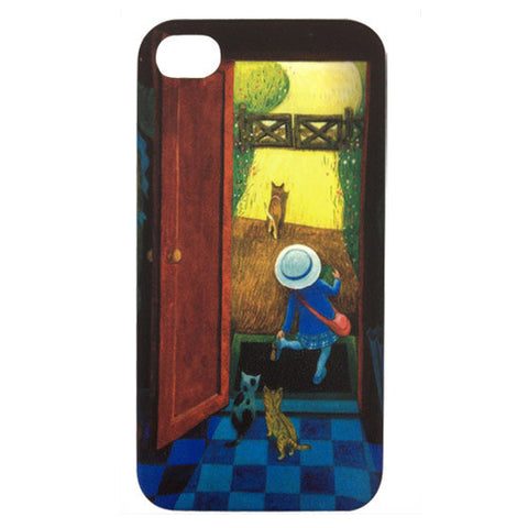 Skque Jimmy Series Carton Hard Back Case for Apple iPhone 4/4S