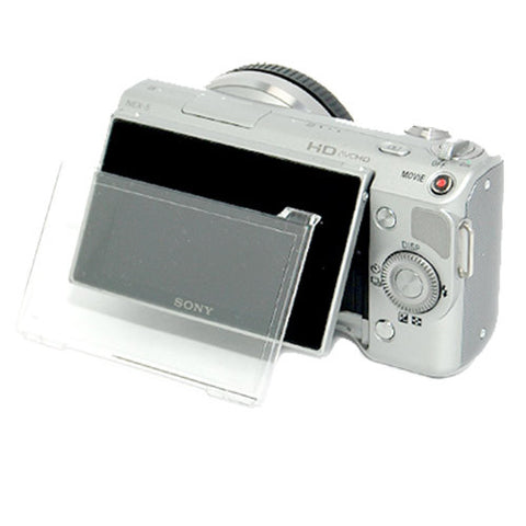 Skque Hard LCD Protect Cover Screen Protector for SONY NEX-3/NEX-5/NEX-C3 Camera