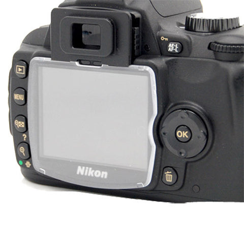 Skque Hard LCD Protect Cover Screen Protector for NIKON D40/D40X Camera