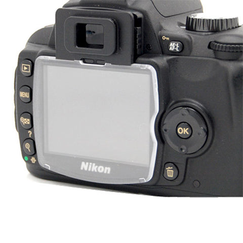 Skque Hard LCD Protect Cover Screen Protector for NIKON D60 Camera