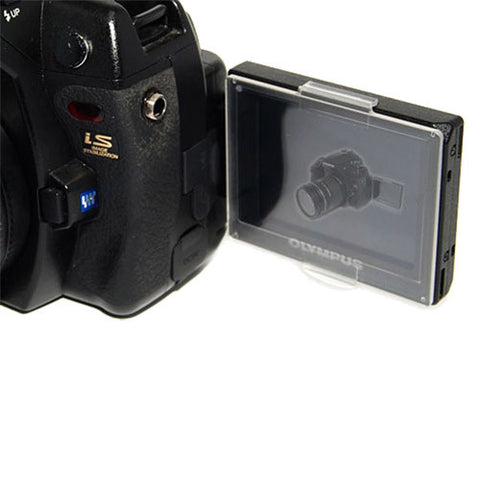 Skque Hard LCD Protect Cover Screen Protector for OLYMPUS E3 Camera