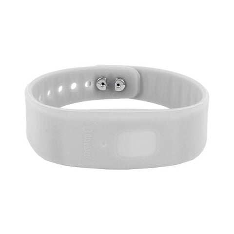 Skque White Bluetooth Incoming Call Reminder Buzz Wrist Band for Apple iPhone 4 4S and Other Smart Phones