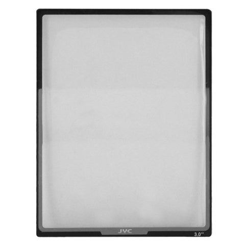 Skque Universal 3 inch Ultra Clear Optical Glass LCD Screen Protector Cover for Digital Camera