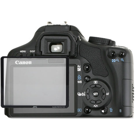 Skque Universal Ultra Clear Optical Glass LCD Screen Protector Cover for Canon 450D 500D