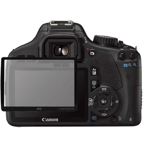 Skque Universal Ultra Clear Optical Glass LCD Screen Protector Cover for Canon 550D