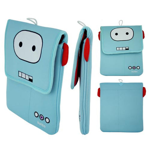 Roro  the Robot Memory Foam Case For 10.1 inch IPAD