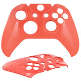 Skque® Crystal Handle Shell Case Cover for Microsoft Xbox One Controller, Red