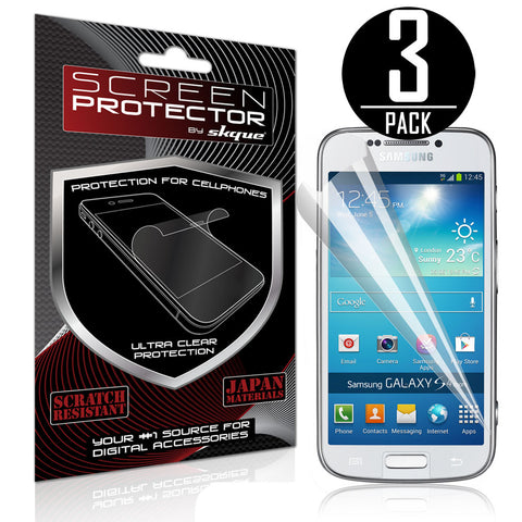 Galaxy S4 Zoom Screen Protector,Skque® Anti Scratch Screen Protector for Samsung Galaxy S4 Zoom [3 PACK]