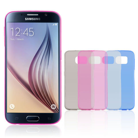 Skque® Ultra Slim PP Back Case Cover for Samsung Galaxy S6, Pink