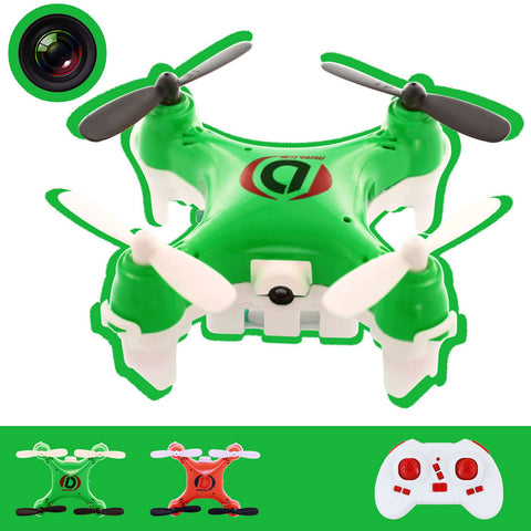 Skque® 2.4GHz 4 Channel 6 Axis RC Remote Control Quadcopter Drone with Camera