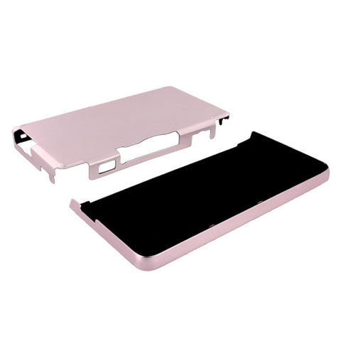 Skque Aluminum Snap-On Case Cover for Nintendo 3DS-color in Pink