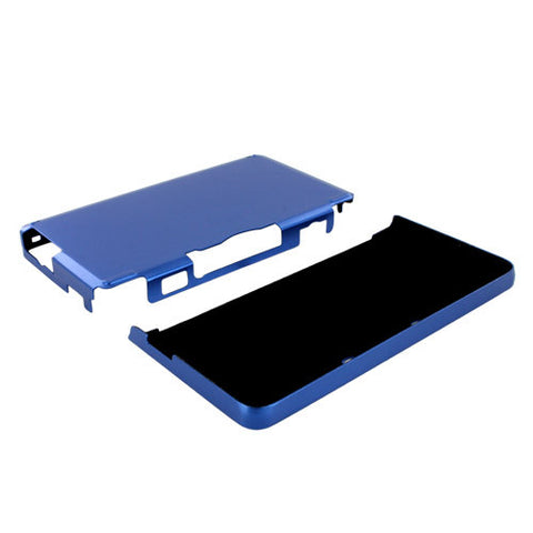 Skque Aluminum Snap-On Case Cover for Nintendo 3DS-color in Blue