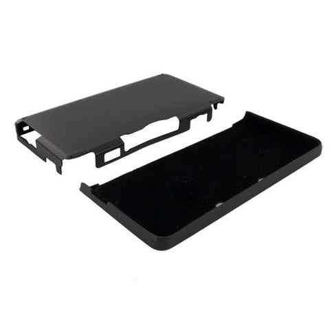 Skque Aluminum Snap-On Case Cover for Nintendo 3DS-color in Black