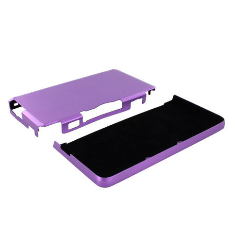 Skque Aluminum Snap-On Case Cover for Nintendo 3DS-color in Purple