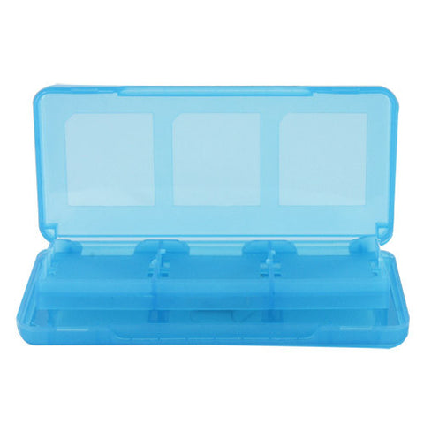 Skque 8 in 1 Game Card Case Box for Nintendo DS Lite,Dsi,3DS-color in Blue