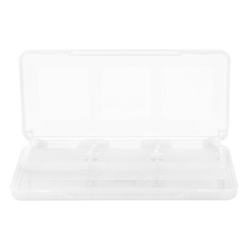 Skque 8 in 1 Game Card Case Box for Nintendo DS Lite,Dsi,3DS-color in Clear