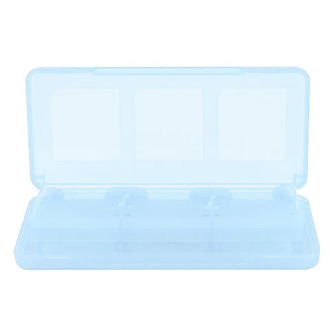 Skque 8 in 1 Game Card Case Box for Nintendo DS Lite,Dsi,3DS-color in Light Blue