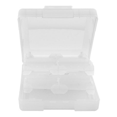 Skque 16 in 1 Game Card Case Box for Nintendo DS Lite,Dsi,3DS-color in Clear