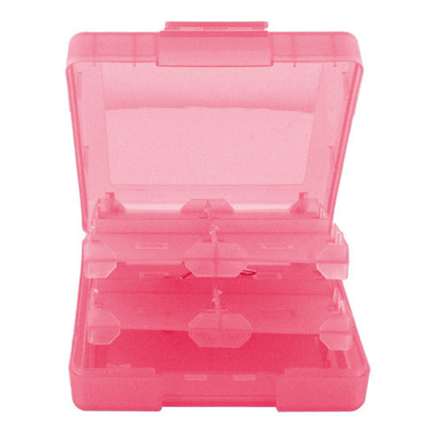 Skque 16 in 1 Game Card Case Box for Nintendo DS Lite,Dsi,3DS-color in Pink