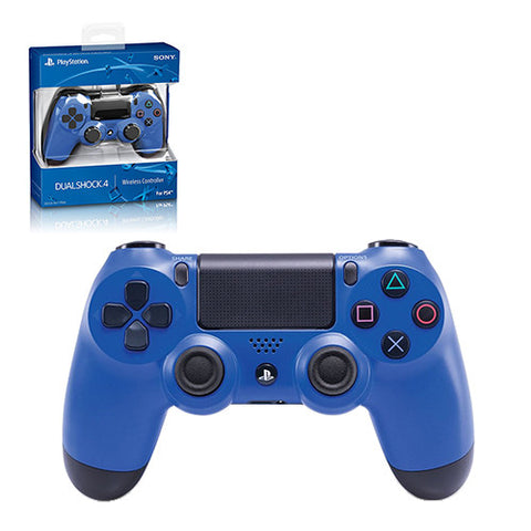 PS4 - Controller - Wireless - DualShock 4 - New - Wave Blue (Sony)