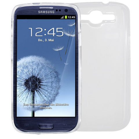 Skque Crystal Hard Case Cover for Samsung Galaxy S3 I9300, Case in Clear